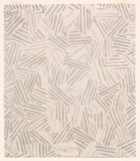Jasper Johns-Lot of Two Works: (i) Silver Cicada; (ii) Summer-1991