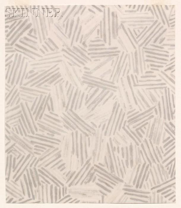 Jasper Johns-Lot of Two Works: (i) Silver Cicada; (ii) Summer-1991