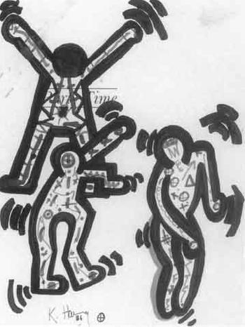 Keith Haring-Keith Haring - Party Time-1986