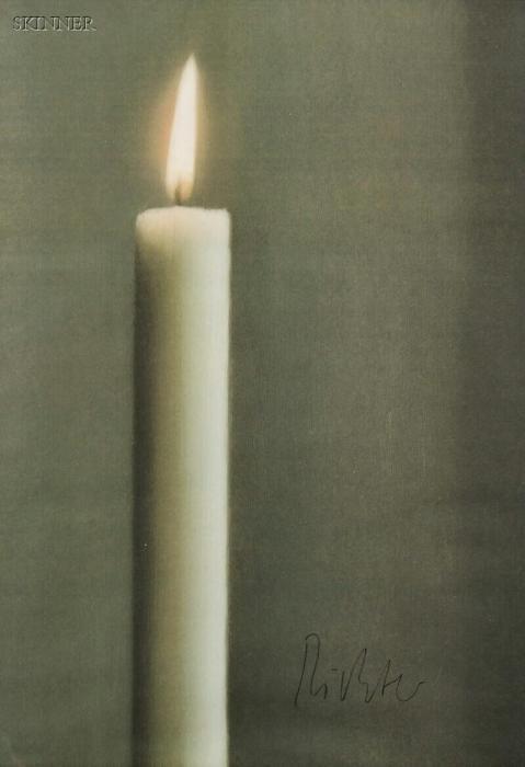 Gerhard Richter-Kerze (Candle)-1988