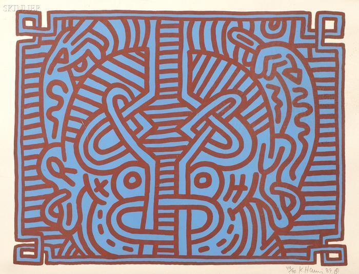 Keith Haring-Keith Haring - Chocolate Buddha 1-1989