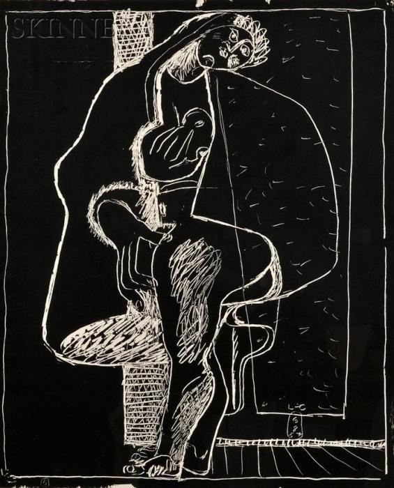Le Corbusier-Plate 5 from Petite confidence-1957