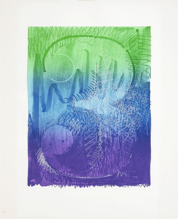 Jasper Johns-Colour Numerals: Figure 3-1969