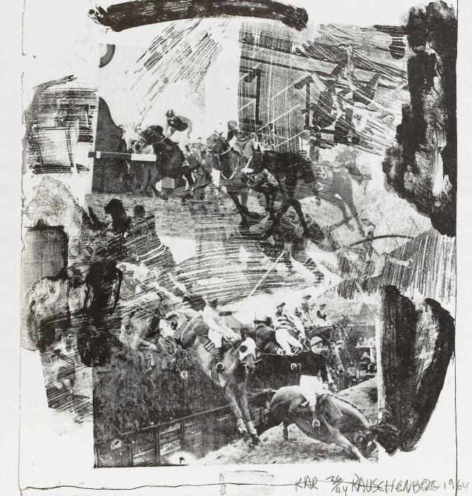 Robert Rauschenberg-Robert Rauschenberg - XXXIV Drawings For Dante's Inferno-1964