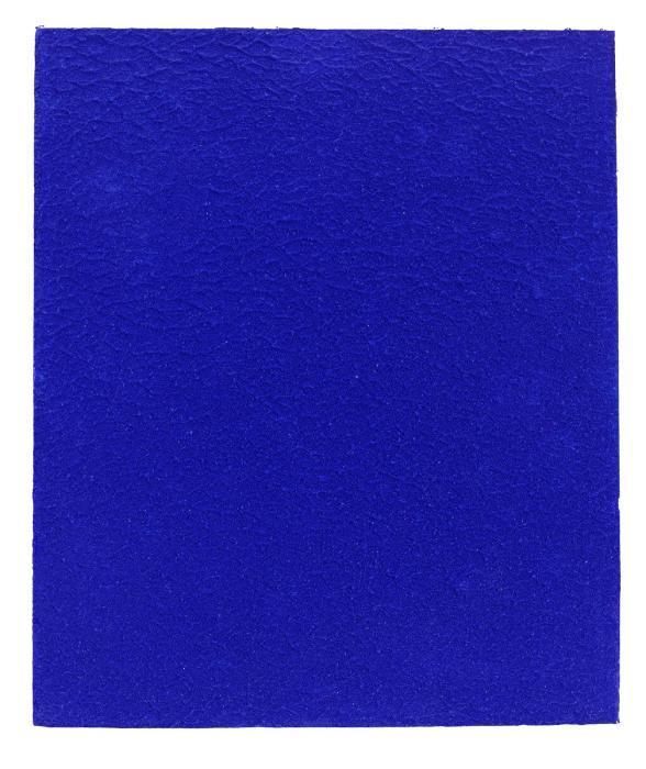 Yves Klein-Monochrome bleu sans titre (IKB 302)-