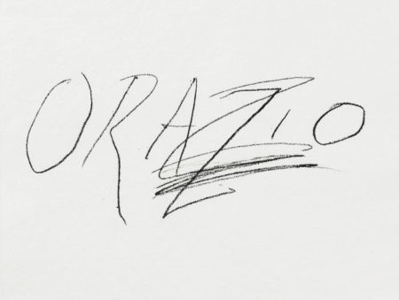 Cy Twombly-Six Latin Writers and Poets: Orazio-1976