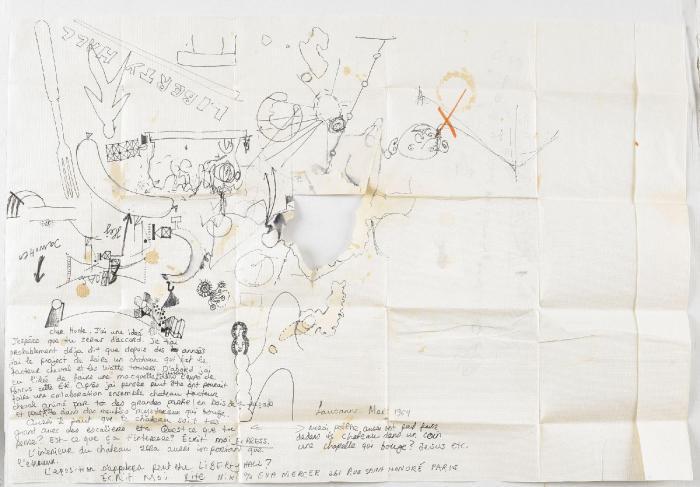 Niki de Saint Phalle-Liberty Hall-1964