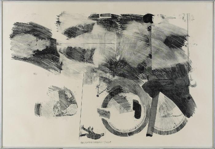 Robert Rauschenberg-Robert Rauschenberg - Test Stone #7 (From Booster And Seven Studies)-1967