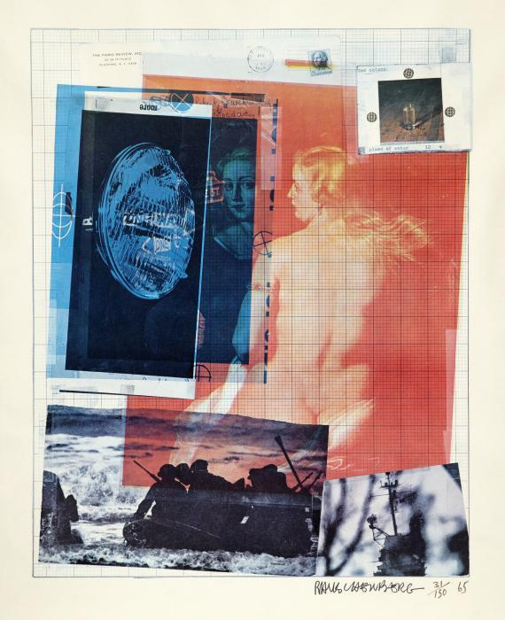 Robert Rauschenberg-Robert Rauschenberg - Paris Review Poster-1965