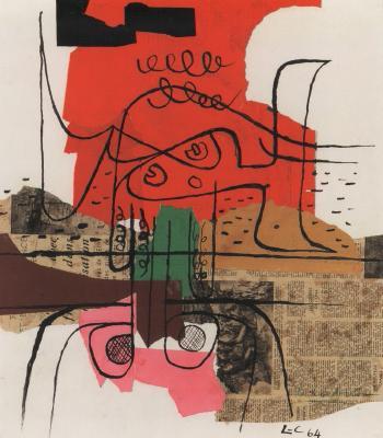 Le Corbusier-Sans titre-1964