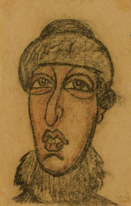 Diego Rivera-Portrait-1921