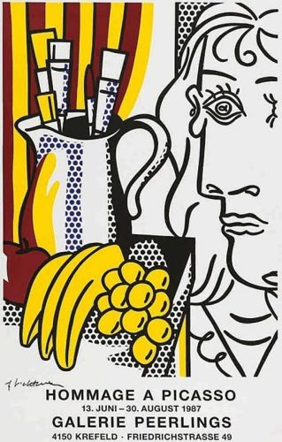 Roy Lichtenstein-Hommage a Picasso-1987