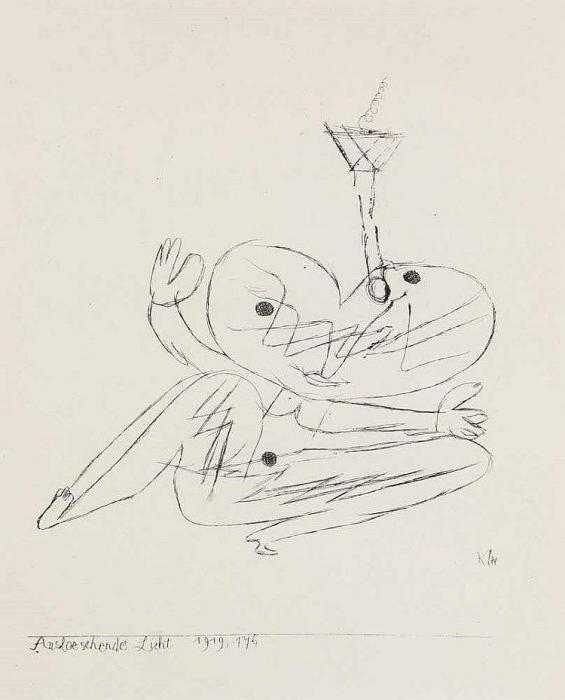 Paul Klee-Ausloeschends Licht-1919