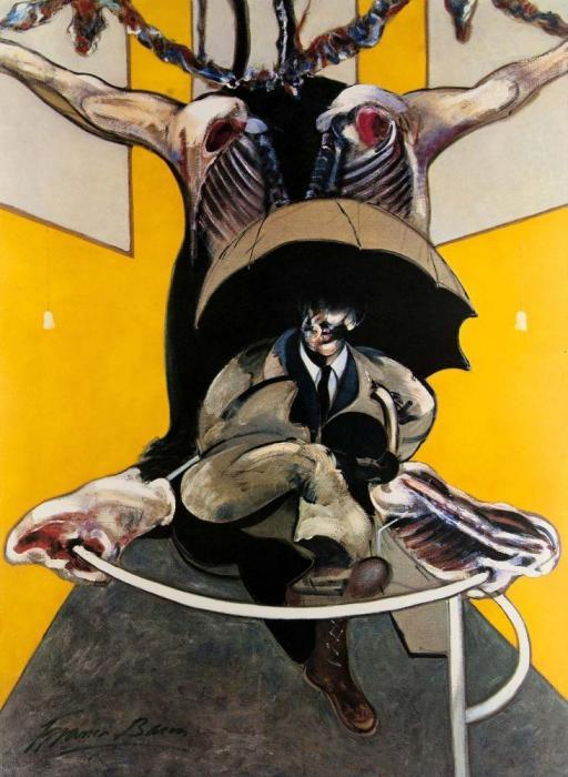 Francis Bacon-Second version of painting-1971