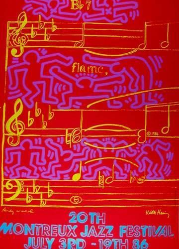 Keith Haring-Keith Haring - 20Th Montreux Jazz Festival-1986