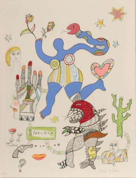 Niki de Saint Phalle-Pink Martini-2002