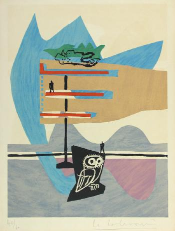 Le Corbusier-Ohne Titel-1955