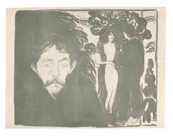 Edvard Munch-Eifersucht, grosse Fassung-1896