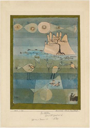Paul Klee-Exotische Flusslandschaft-1922