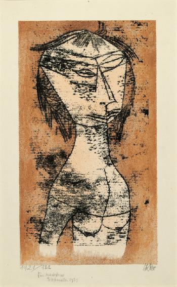Paul Klee-Die Heilige Vom Inneren Licht (The Saint Of Inner Light)-1921