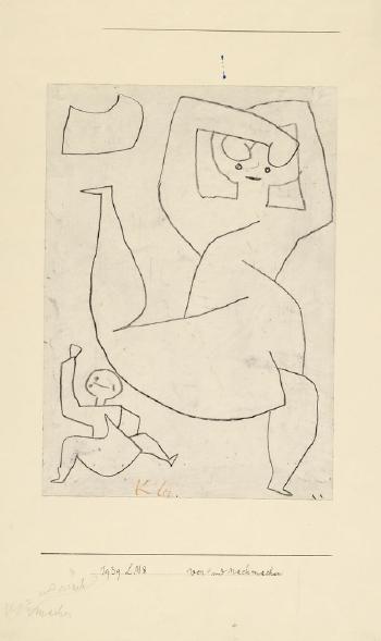 Paul Klee-Vor Und Nachmachen-1939