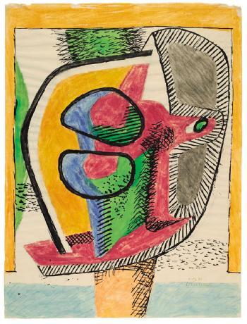 Le Corbusier-Komposition Vichy-1941