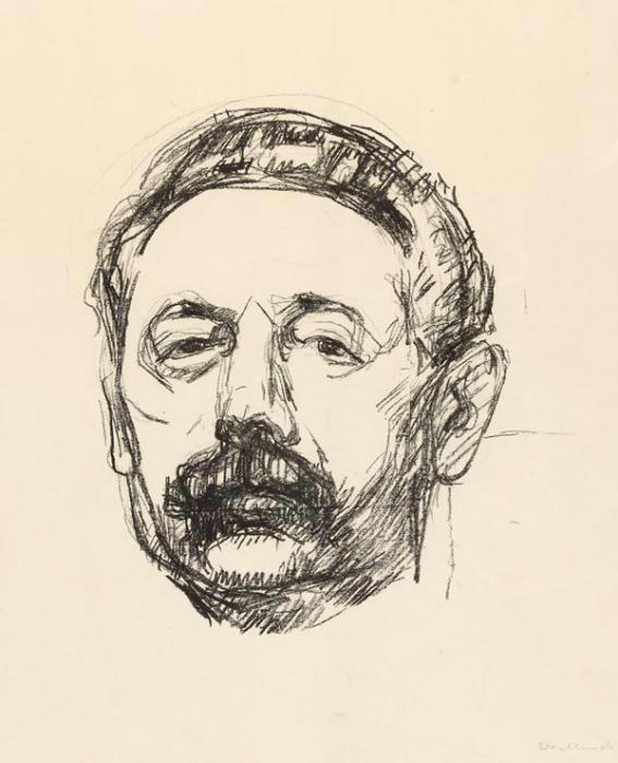 Edvard Munch-Tor Hedberg (Woll 397)-1912