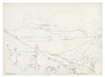 Paul Klee-Justistal, Mit Blick Auf Den Thunersee, Niesen Und Stockhorn-1909