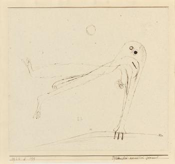 Paul Klee-Pflanzlich - Menschlich Gepaart-1922