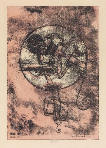 Paul Klee-Der Verliebte (The Man In Love) (From Meistermappe Des Staatlichen Bauhauses)-1923
