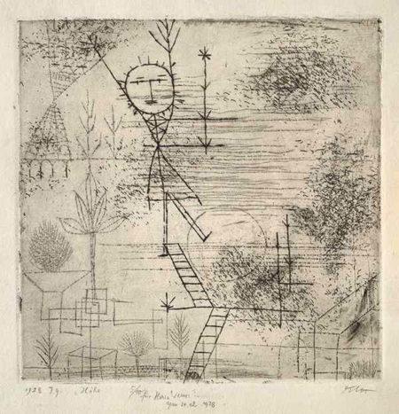 Paul Klee-Hohe !-1928