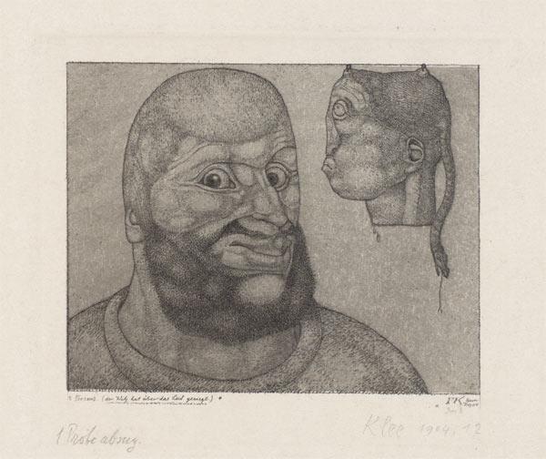 Paul Klee-Perseus (Der Witz Hat Uber Das Leid Gesiegt) - Invention 8-1904