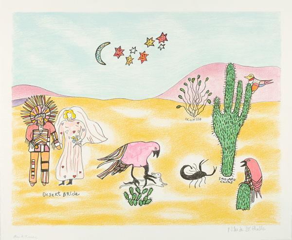 Niki de Saint Phalle-Desert Bride-2001