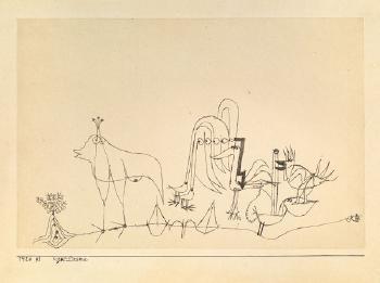 Paul Klee-Vogel-Drama-1920