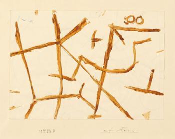 Paul Klee-Auf Reisen (On a journey)-1939