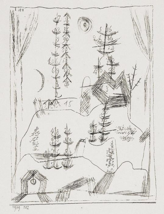 Paul Klee-Zahlenbaumlandschaft-1919