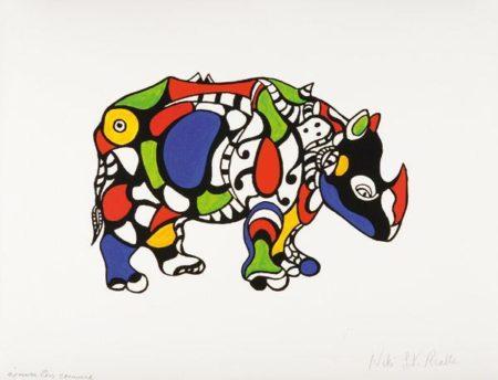 Niki de Saint Phalle-Remember-1969