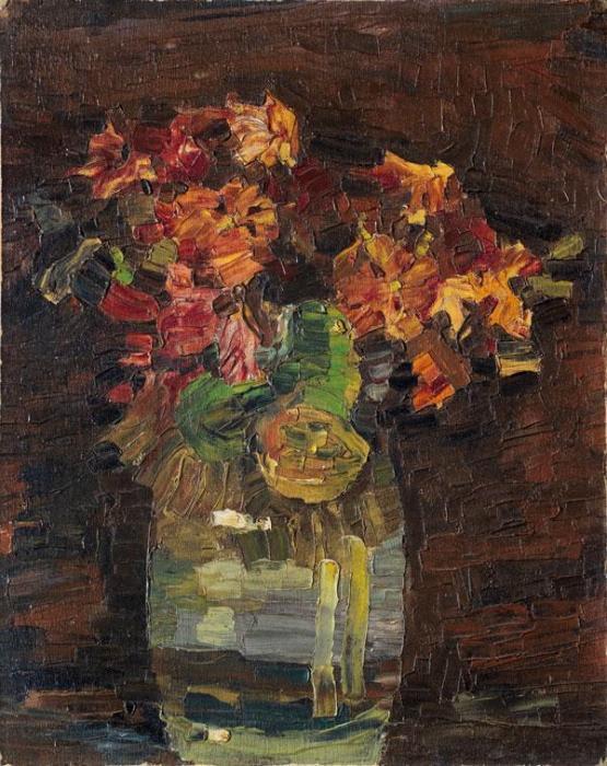 Paul Klee-Nelken In Vase-1908