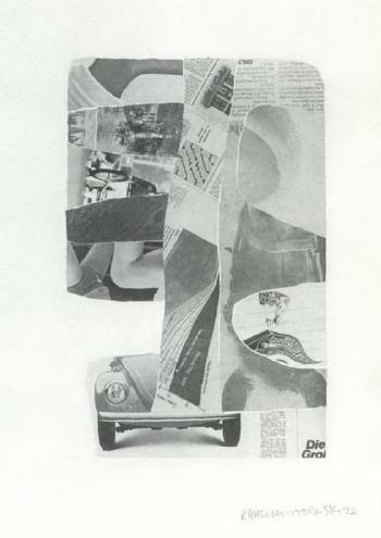 Robert Rauschenberg-Robert Rauschenberg - Tares III-1972