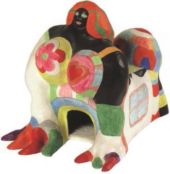 Niki de Saint Phalle-Sphinx, l'imperatrice-1983