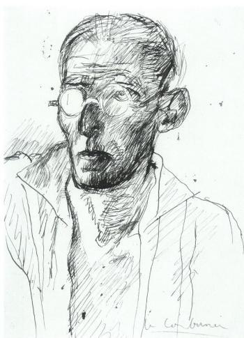 Le Corbusier-Selbstbildnis-1935