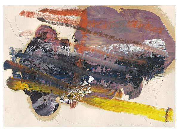 Gerhard Richter-Ohne Titel (15.11.85) / Untitled (15.11.85)-1985