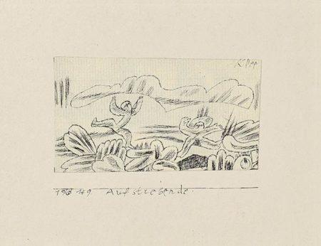 Paul Klee-Aufstrebende-1913