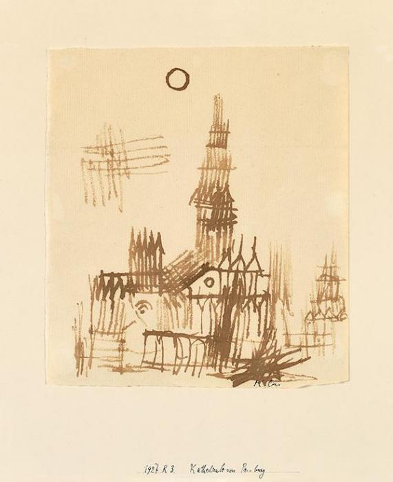 Paul Klee-Kathedrale Von Pr.-burg-1927