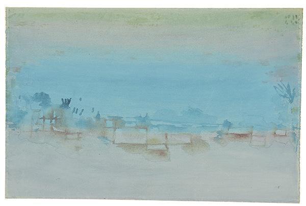 Paul Klee-Aegyptisches Dorf-1929