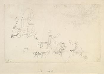 Paul Klee-Hilfe naht-1927