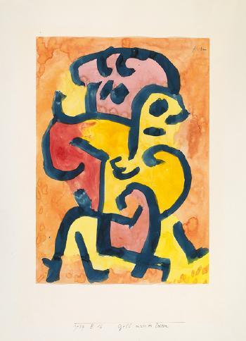 Paul Klee-Gelb Muss Es Leiden - Gelb Vergewaltigt-1939
