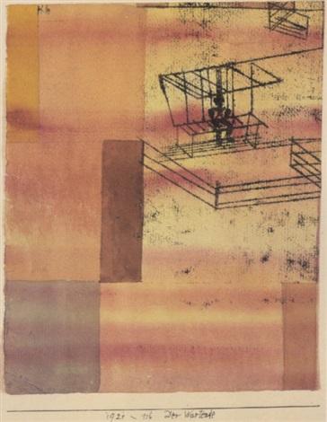 Paul Klee-Der Wartende (Waiting Male)-1921