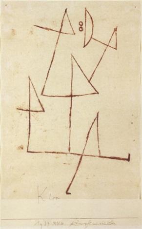 Paul Klee-Kampft Mit Sich Selber-1939