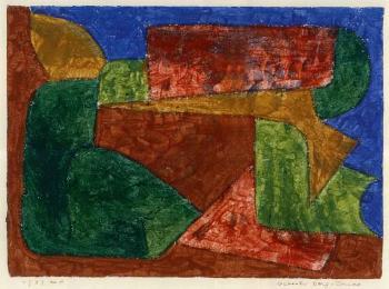 Paul Klee-Bedaute Berg Terrasse (Built On Mountain Terrace)-1939